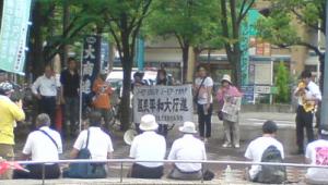 平和行進写真